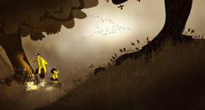 Wild Geese by PascalCampion