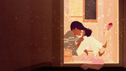 Hot Bath on a Cold day by PascalCampion