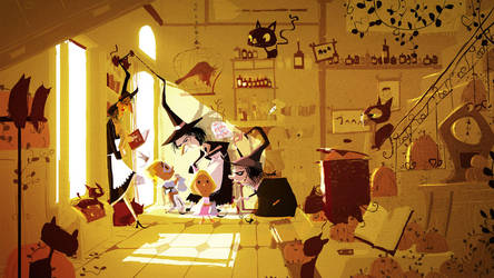 Trick and Treat by PascalCampion