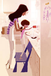 Chocolate brownies by PascalCampion
