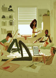 College days by PascalCampion