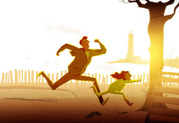 Morning run by PascalCampion