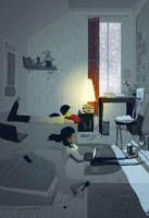 First snow by PascalCampion