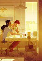 Morning Sun by PascalCampion