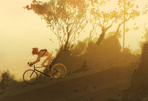 Morning Ride by PascalCampion