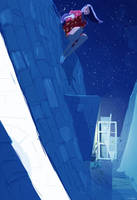 Up on the roof by PascalCampion