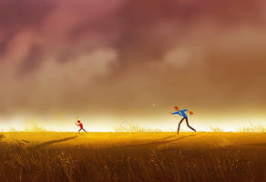 Keep your eyes on the ball by PascalCampion