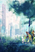 Art in the park by PascalCampion