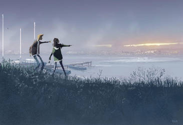 The crack in the sky. by PascalCampion