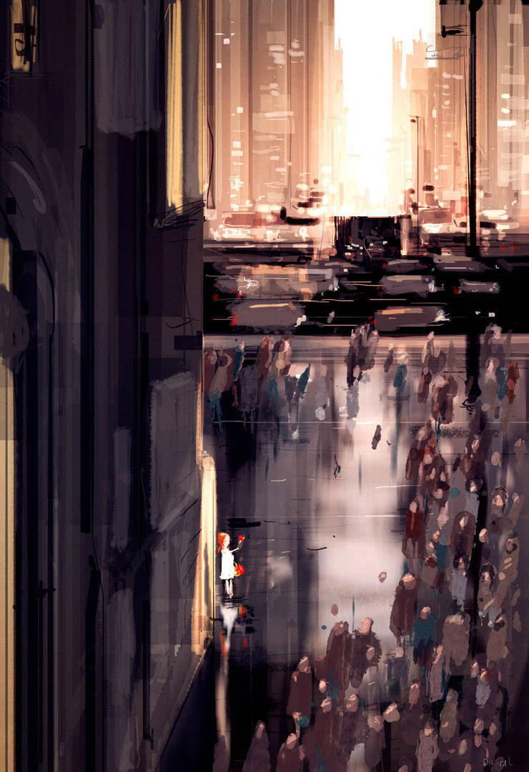 The invisible girl. by PascalCampion