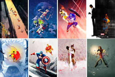 Marvel Covers by PascalCampion
