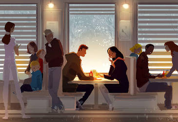 Diner Stories. by PascalCampion