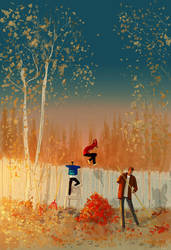Sometimes, I feel like they grow too fast. by PascalCampion