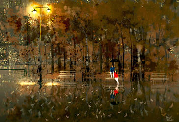 Rainy March by PascalCampion