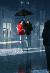Forecasting rain ,thunder, hot chocolates by PascalCampion