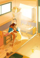 The warmest towel by PascalCampion