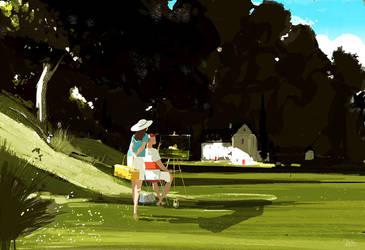 Plein Air. #pascalcampion by PascalCampion
