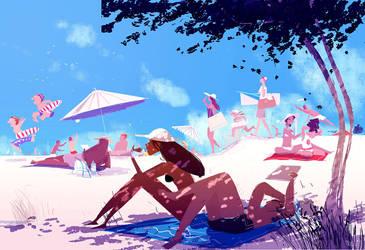 Beach days by PascalCampion