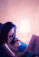 When Mommy reads me a story. by PascalCampion