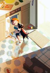 I had a dog named Thunder. by PascalCampion