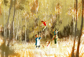 Light as a feather by PascalCampion