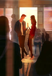 Remember that moment in the train? by PascalCampion