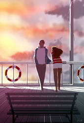 Breezy in the early morning. by PascalCampion