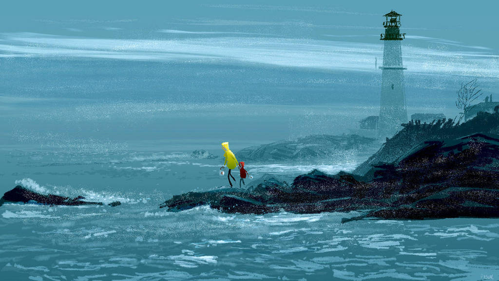 Clam fishing by PascalCampion