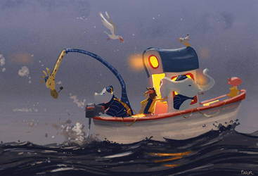 Another boat adventure. by PascalCampion