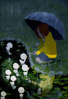 My rainy day friends. by PascalCampion
