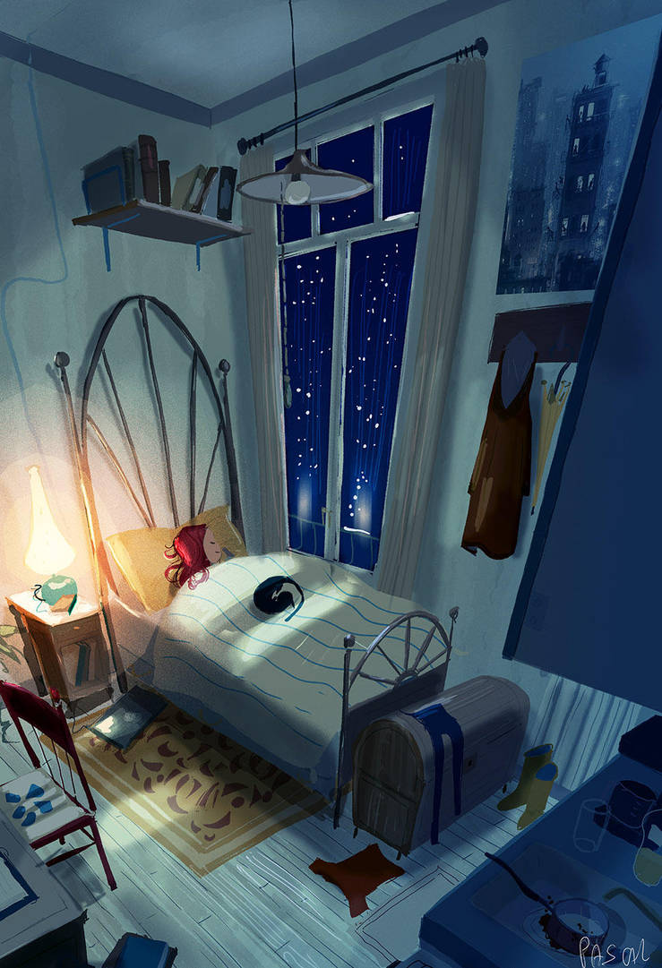 Never too old for a night light by PascalCampion