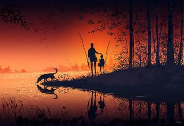 Nightfall. by PascalCampion