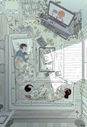 A little sick. by PascalCampion