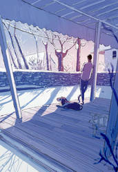 Freshly snowed. by PascalCampion
