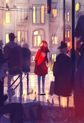 On the corner of 42nd and something. by PascalCampion