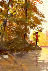 Autumn breeze by PascalCampion