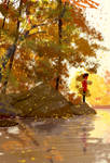 Autumn breeze by PascalCampion