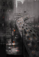 Feels like being stuck in the middle of a rain by PascalCampion