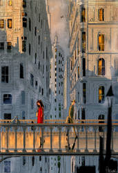 We call it  OUR  bridge now. by PascalCampion