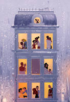 We meet, we love, we hate, we remember. by PascalCampion