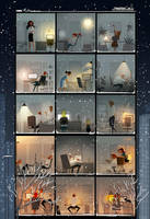 Late night at the office. by PascalCampion