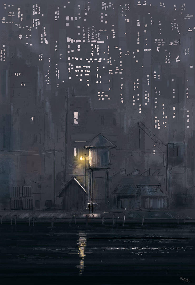 The docks. by PascalCampion