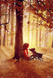 It's almost fall again. by PascalCampion