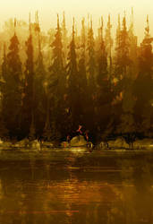 Up at the lake. by PascalCampion
