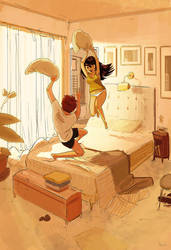 Bedroom Games by PascalCampion