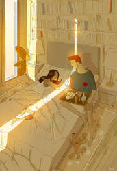 Early one morning. by PascalCampion