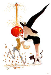 A Trick AND a Treat. by PascalCampion