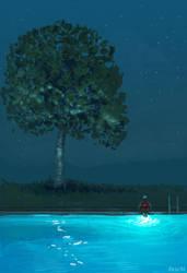 Night Swim by PascalCampion