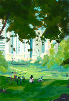 A day at the park. by PascalCampion