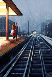 The last train. by PascalCampion